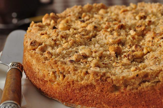 Apple Streusel Cake Joyofbaking Com Video Recipe