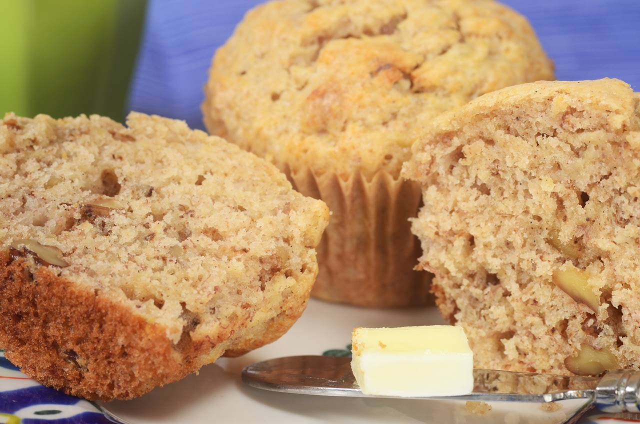 Banana Cake Recipe With Oil Joy Of Baking: Banana Muffins Recipe & Video