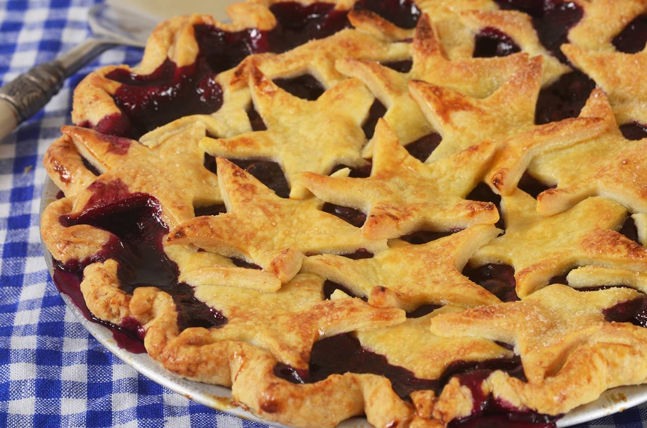 how to make a blueberry and apple pie