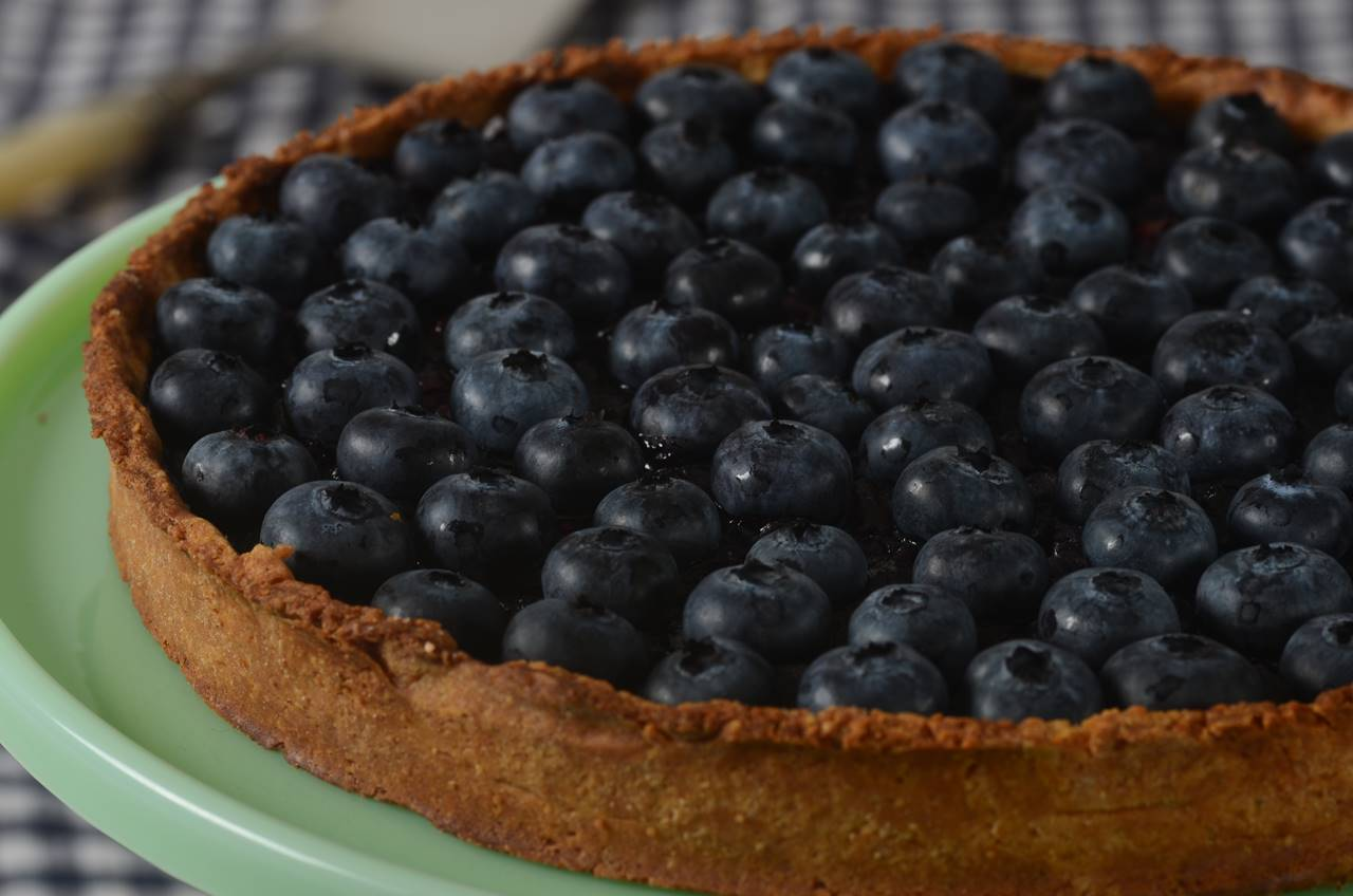 Blueberry Tart Joyofbaking Com Video Recipe