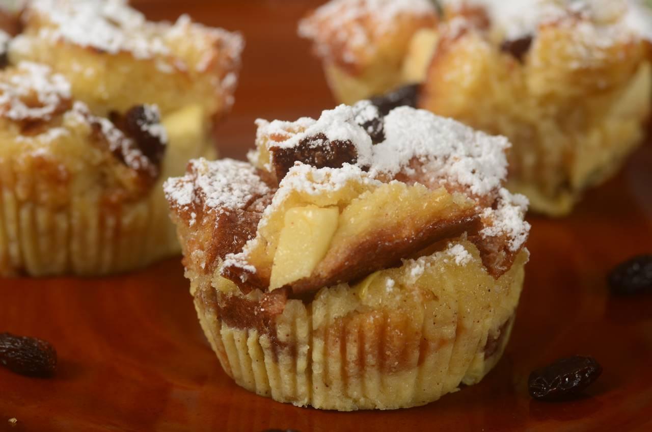 Bread Pudding Muffins Recipe Video