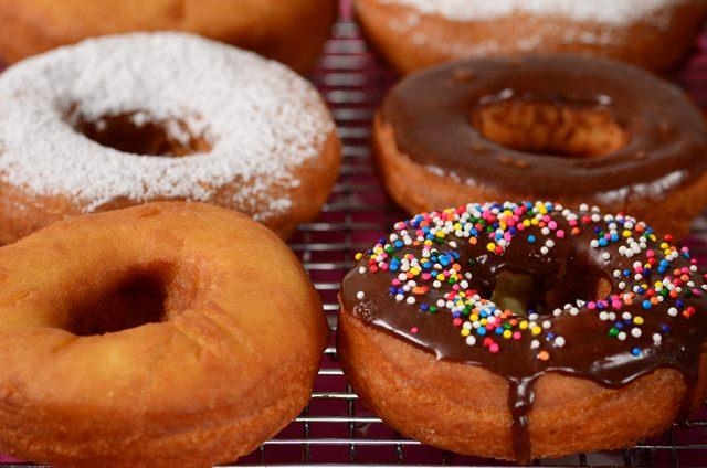 Cake doughnut recipes from scratch