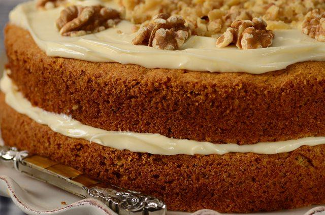 Carrot Cake Recipe Video Joyofbaking Com Video Recipe