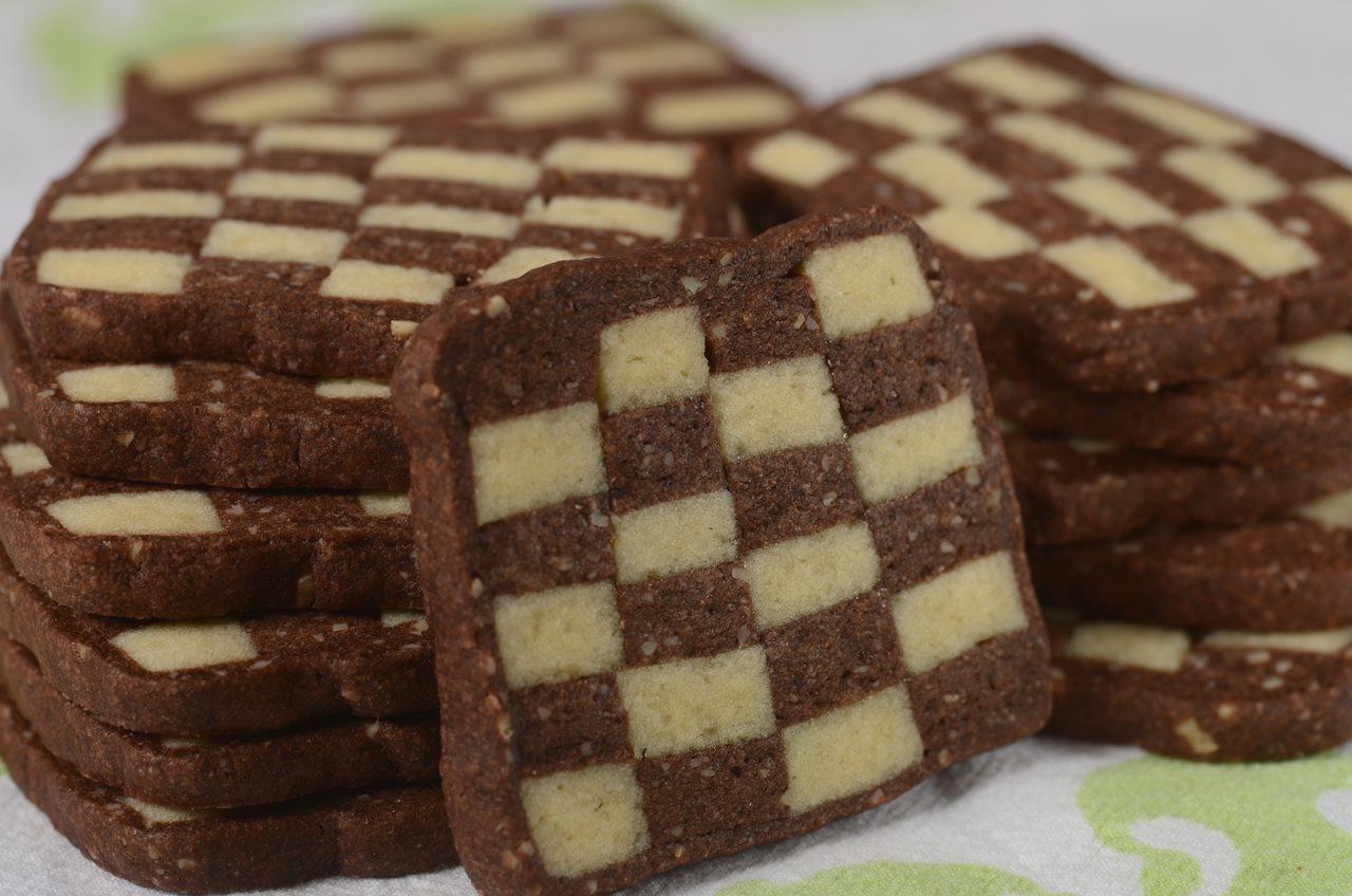 Checkerboard Cookies Recipe Video Recipe