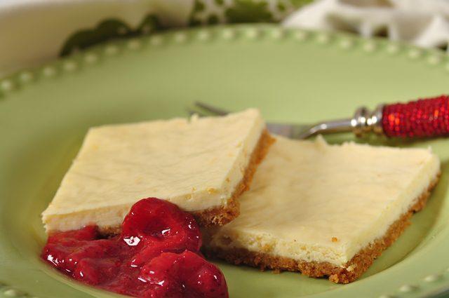 Cheesecake Squares Recipe Joyofbaking Com Video Recipe