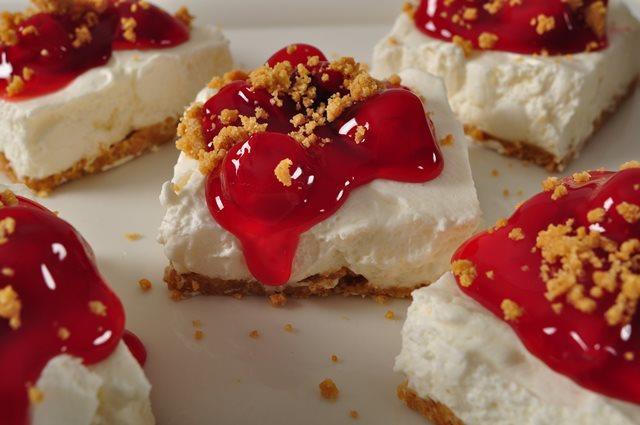 Cherry Squares Recipe Joyofbaking Com Video Recipe