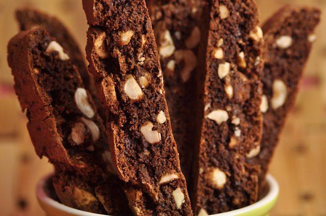 Chocolate Hazelnut Biscotti Recipe - Joyofbaking.com ...