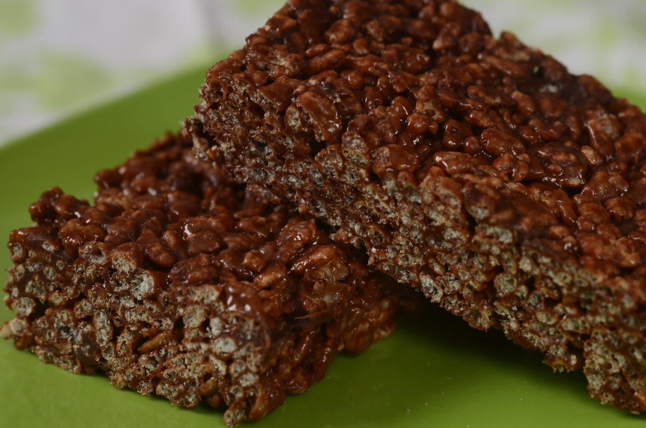 Chocolate Rice Krispies Treats - Joyofbaking.com *Video Recipe*