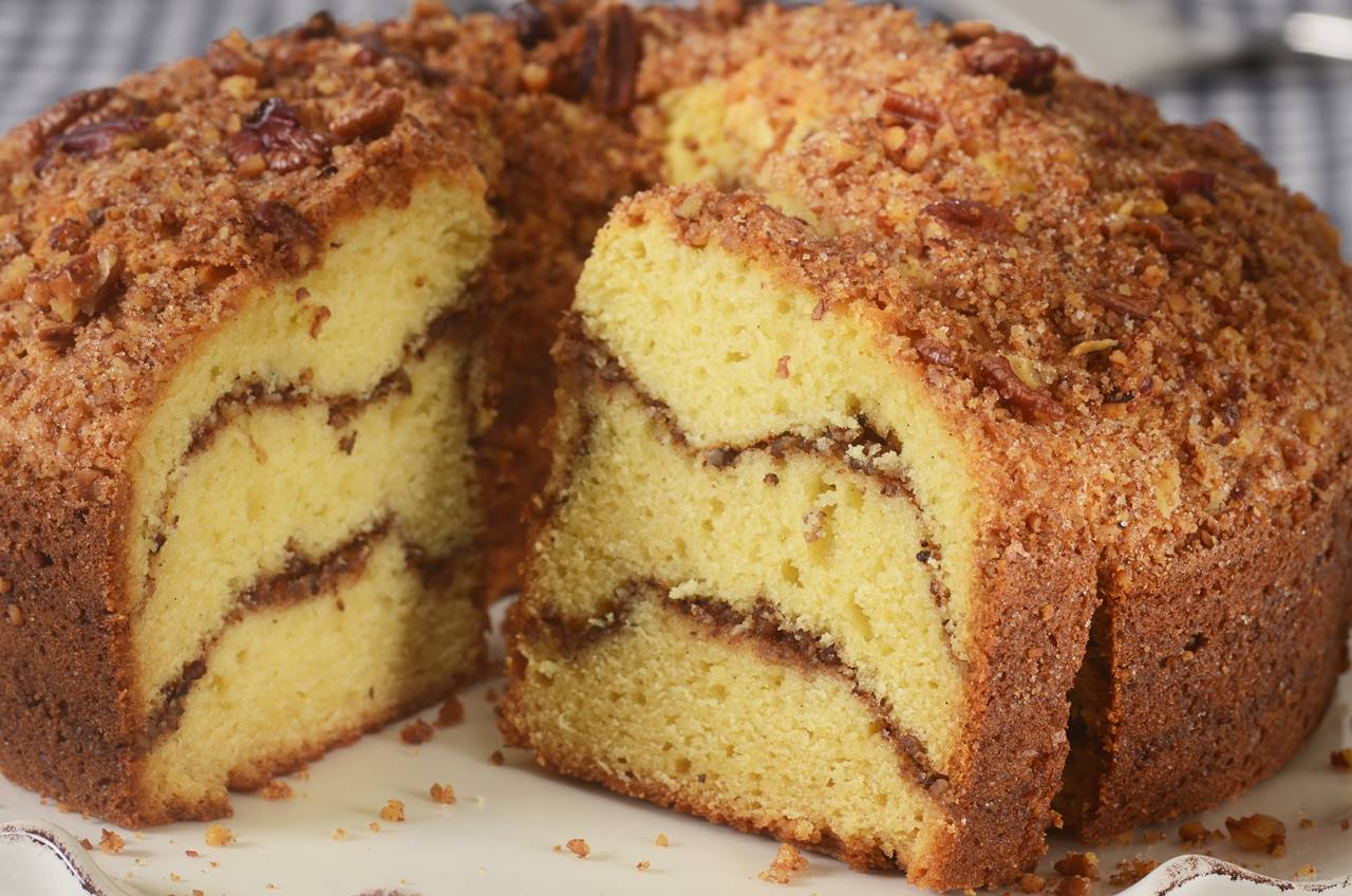 Cinnamon Streusel Coffee Cake Joyofbaking Com Video Recipe