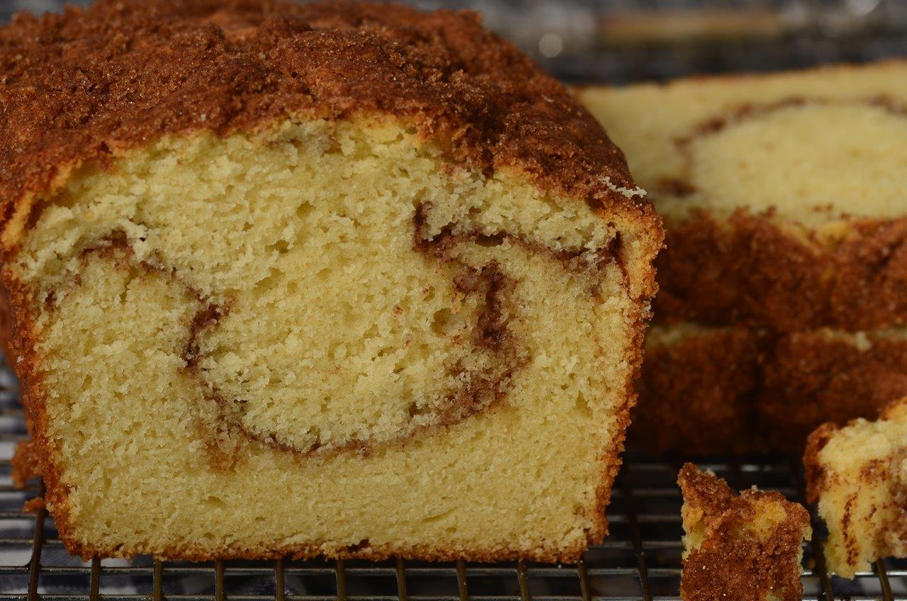 Cinnamon Swirl Coffee Cake With Yellow Cake Mix