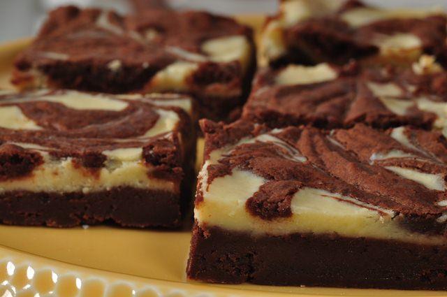 Cream Cheese Brownies Recipe Joyofbaking Com Video Recipe