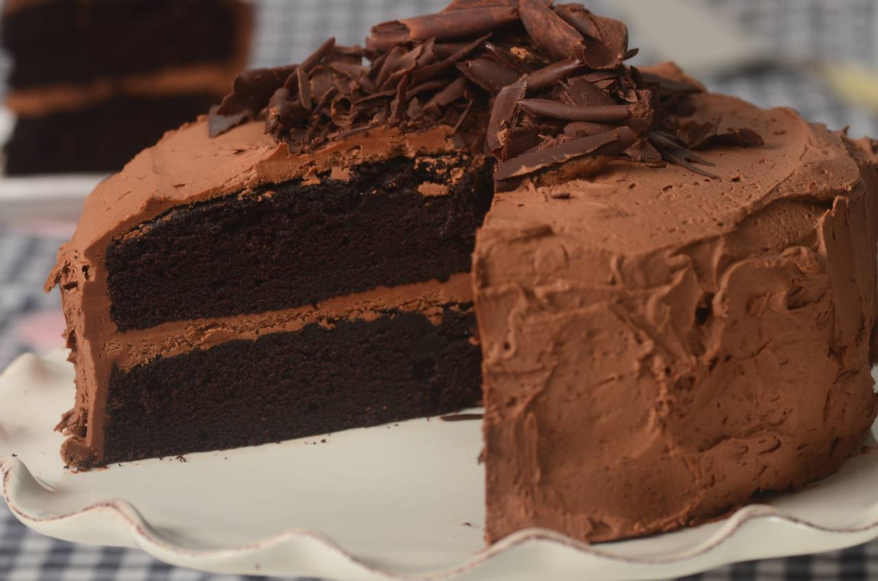 Devil's Food Cake - Joyofbaking.com *Video Recipe*