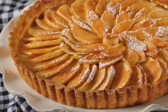 French Apple Tart Recipe - Joyofbaking.com *Video Recipe*