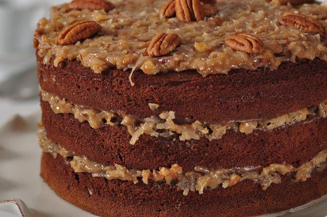 german cake recipes german chocolate cake recipe joyofbaking recipe 4480