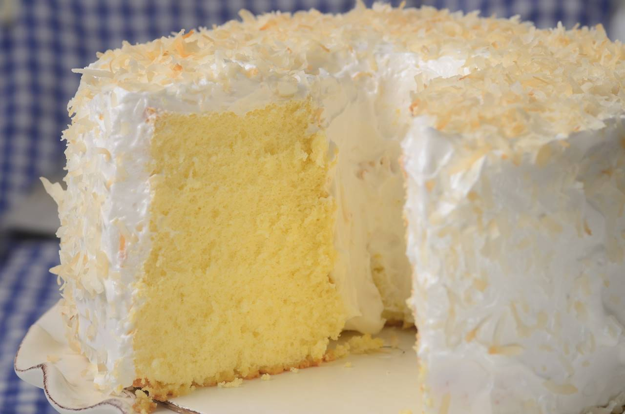 Light Lemon Sponge Cake Recipes: Joyofbaking.com *Video Recipe