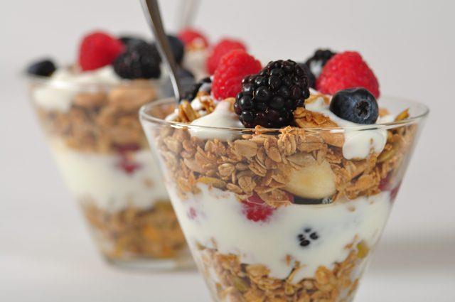 granola trifles recipe  u0026 video