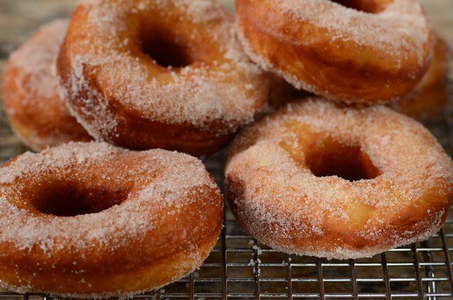 Homemade Doughnuts Recipe Joyofbaking Com Video Recipe