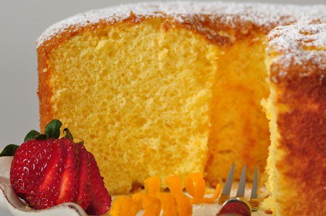 Orange Chiffon Cake Recipe Joyofbaking Com Video Recipe