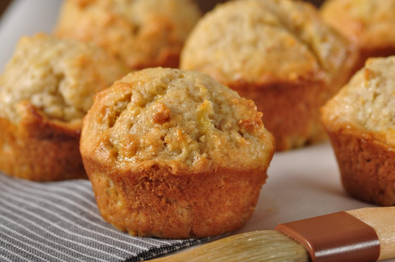 Low Fat Pineapple Muffins 11