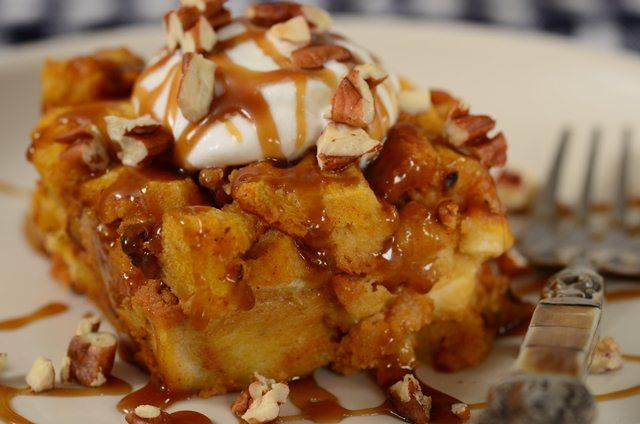 Pumpkin Bread Pudding Recipe Joyofbaking Com