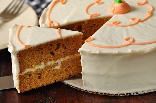Pumpkin Apple Spice Cake Recipe