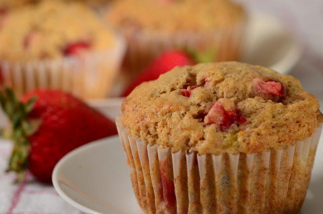 Image result for Strawberry Banana Muffins