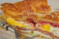 Eggs and Ham Pie Recipe - Joyofbaking.com *Video Recipe*