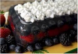 Jellied Fruit Terrine Recipe - Joyofbaking.com *Tested Recipe*