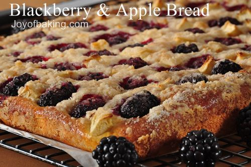 Blackberry Apple Bread