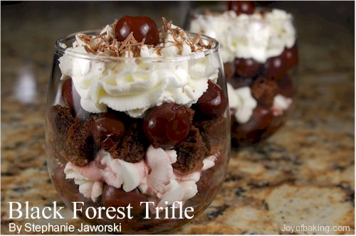 blackforesttrifle - Yummy Trifles
