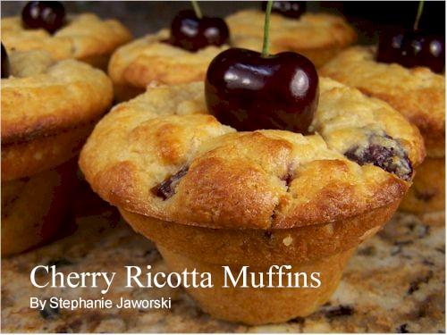 Cherry Cake Recipe Joy Of Baking: Cherry Ricotta Muffins Recipe