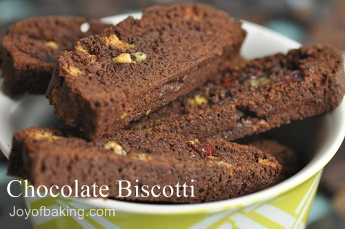 Chocolate Biscotti Recipe