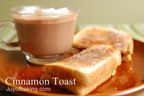 Cinnamon Toast Recipe - Joyofbaking.com *Tested Recipe*