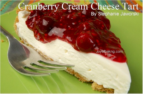 Cranberry Cream Cheese Tart Recipe