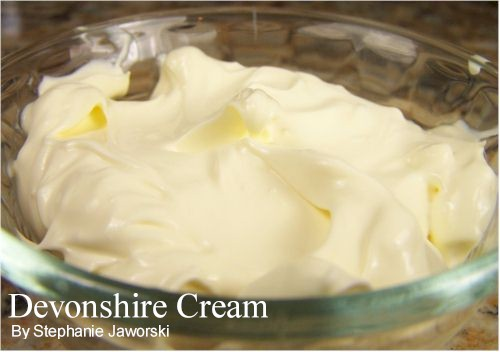Devonshire Cream Recipe Joyofbaking Com Tested Recipe