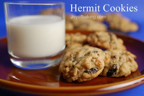 Hermit Cookies Recipe — Dishmaps
