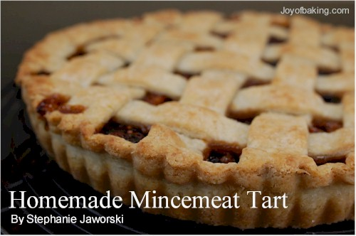 Homemade Mincemeat Tart Recipe