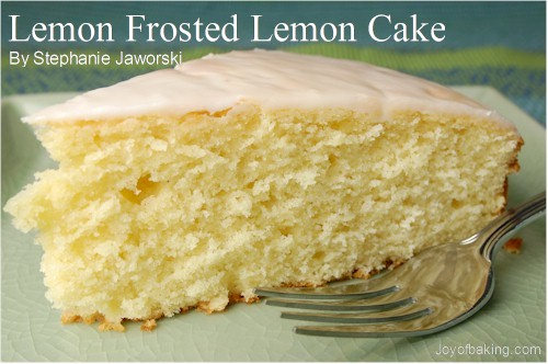 Lemon Cake Recipe Joy Of Baking: Gardenview Cottage: February 2009