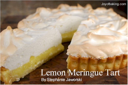 lemon meringue tart recipe joyofbakingcom tested recipe lemon meringue tartlets for mothers day 500x332