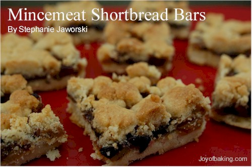 Mincemeat Shortbread Bars Recipe