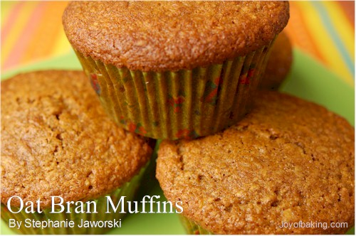 Golden Raisin Oat Bran Muffins Recipe — Dishmaps