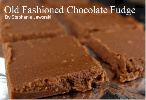 Chocolate Fudge Recipe - Joyofbaking.com *Tested Recipe*