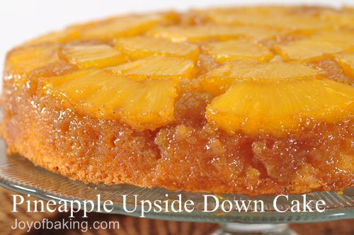 pineapple upside down cake to upside down cake recipe set both down ...