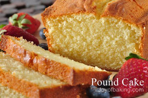 Joy Of Baking Almond Sponge Cake