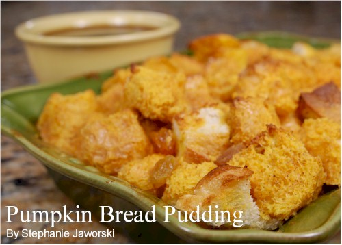 Pumpkin bread pudding recipes