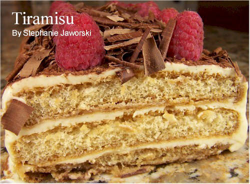 how to make graham cake tiramisu