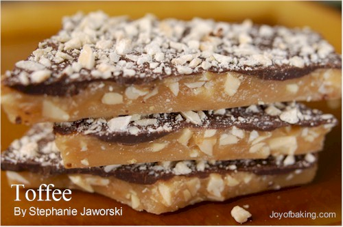 toffee recipe - Candy Recipes For Christmas