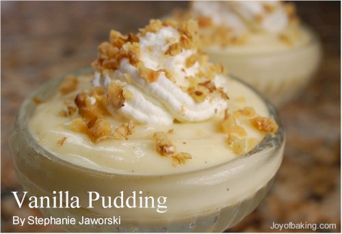 Vanila puding recipes
