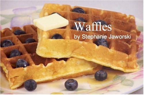 Waffle Recipe Joyofbaking Com Video Recipe