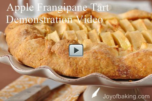 Apple Frangipane Tart Recipe & Video – Joyofbaking.com